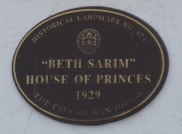Los cristianos verdaderos - Página 2 Beth-sarim-plaque